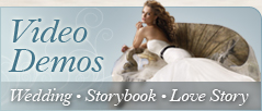 Wedding Videography, Slideshow, Love Story Video Demos